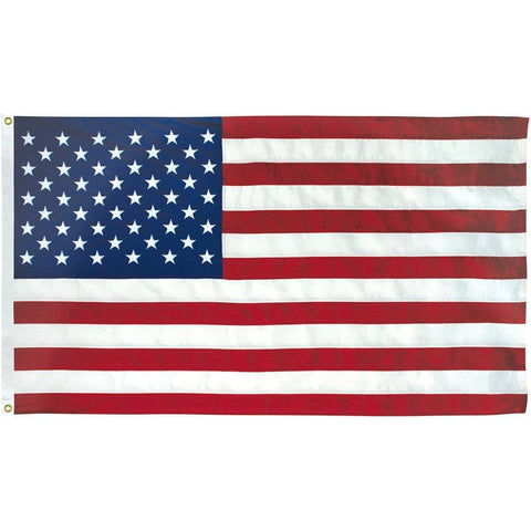 Image of Collins/Eder Flag 3x5 / Poly-Max USA Flag-Commercial-Poly-Max Embroidered -3x5,4x6,5x8,6x10,50x80 ft (Made in America)