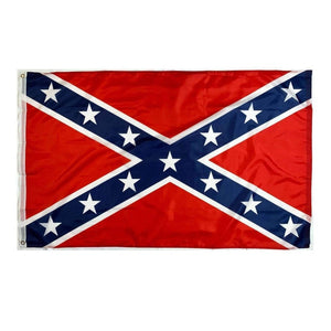 RU Flag 3x5 Rebel Flag, Northern Virginia Battle Flag 3 X 5 ft. Standard