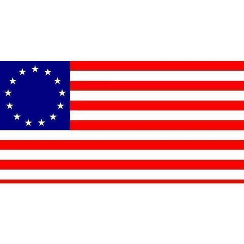 Image of RU Flag 3x5 / Standard Betsy Ross Flag, USA Patriotic 3 x 5 ft. Standard Flag