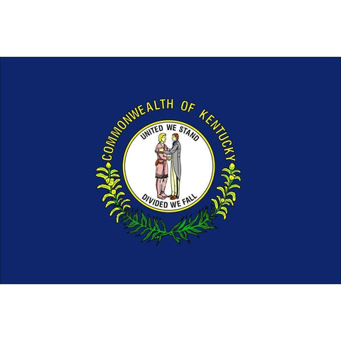 Image of RU Flag 3x5 State of Kentucky Flag 3 X 5 ft. Standard