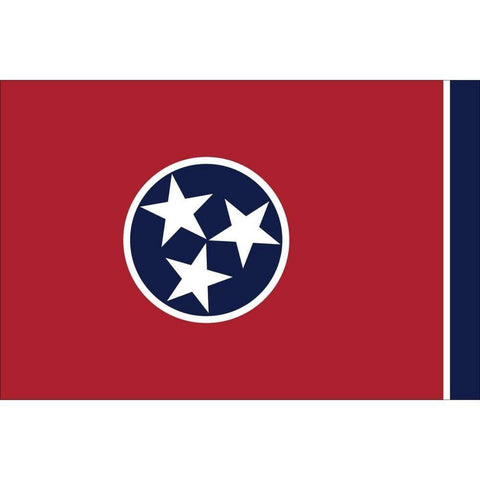 Collins/Eder Flag 3x5 Tennessee 3 x 5 Nylon Dyed Flag Made in USA
