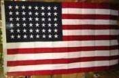 1912 American Flag 48 Star - 1912 to 1959 Cotton