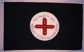 RU Flag 8th Texas Cavalry Regiment Cotton Flag 3 x 5 ft.