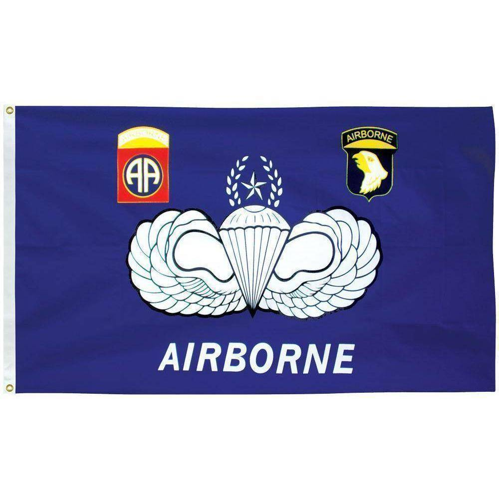 vendor-unknown Flag Airborne 3 x 5 E-Poly Flag