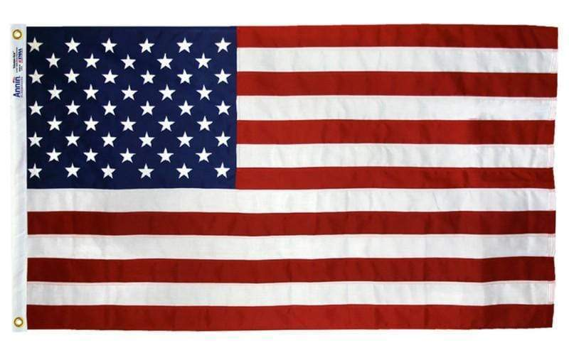 Ultimate Flags Flag American Flag 2 1/2 ft x 4 ft tough tex Made in USA 4 Grommets