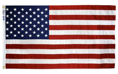 Image of Ultimate Flags Flag American Flag 2 1/2 ft x 4 ft tough tex Made in USA 4 Grommets