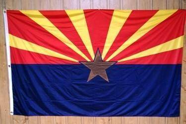 RU Flag Arizona Flag Knitted Nylon 3 x 5 Flag