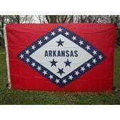 vendor-unknown Flag Arkansas Nylon Printed Flag 3 x 5 ft.