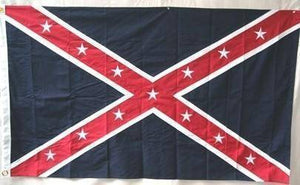 RU Flag Army of the Trans-Mississippi Flag (Taylor) Reverse Color Cotton Flag 3 x 5 ft.
