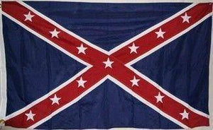 RU Flag Army of the Trans-Mississippi Flag (Taylor) Reverse Color Double Nylon Embroidered Flag 3 x 5 ft.