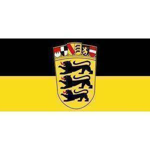 Image of RU Flag Baden Wurttemberg Flag (German State Flag) 3 X 5 ft. Standard
