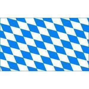 vendor-unknown Flag Bavaria Flag Plain (German State Flag) 3 X 5 ft. Standard