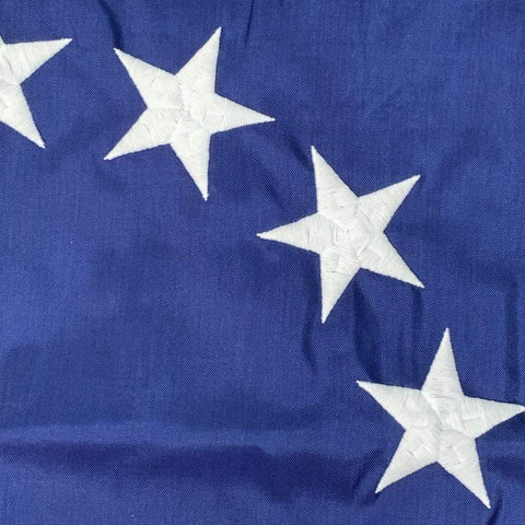 Image of Eder Flag Betsy Ross Flag 3x5 ft Made in USA  Nylon Sewn - Pole Hem - Sleeve Hoist