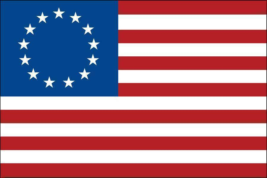 6x10 Betsy Ross Flag Outdoor Fully Sewn Nylon Made In Usa