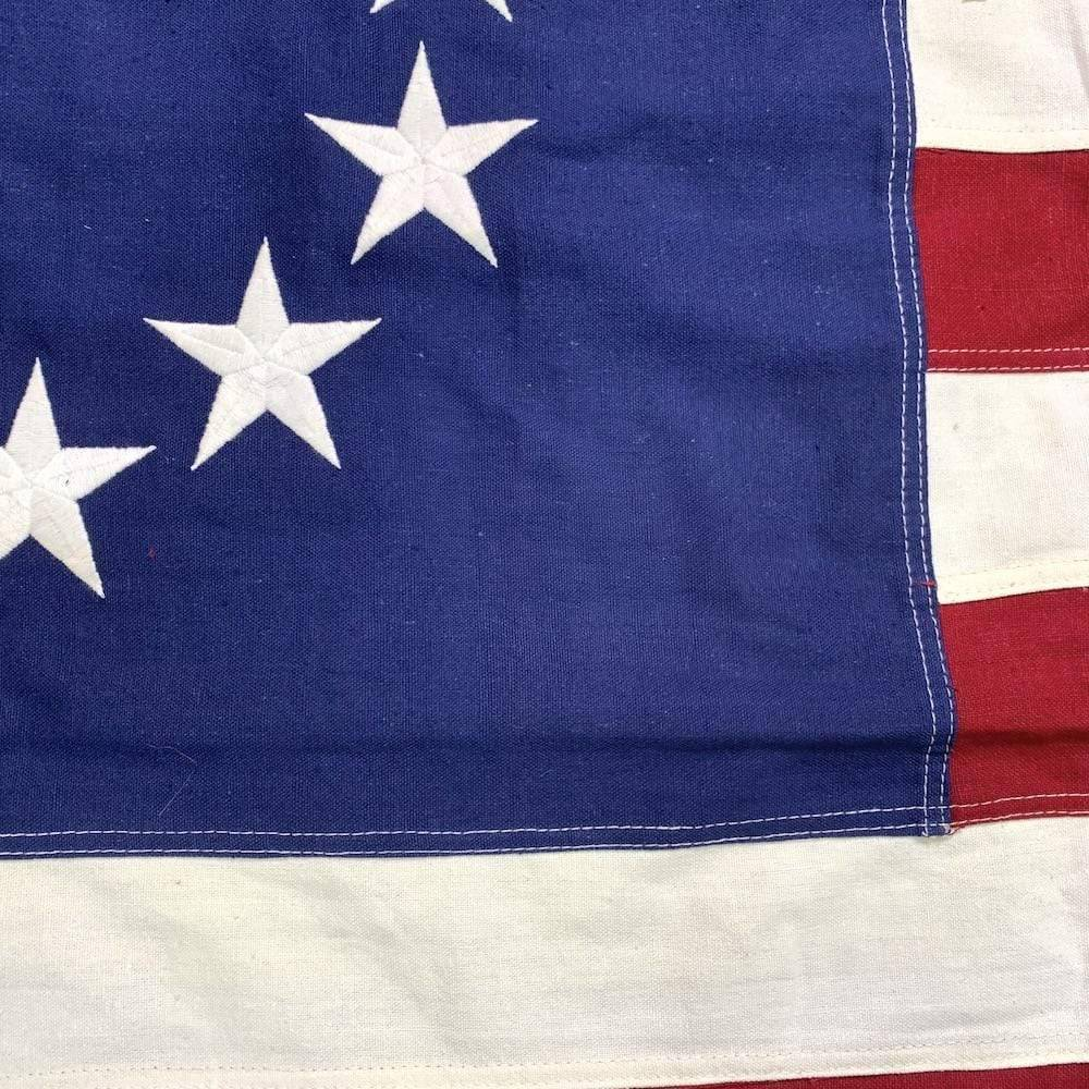RU Flag Betsy Ross Flag - Antiqued Cotton 3 x 5 ft.