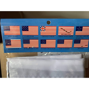 Betsy Ross Flag - USA Patriotic 3x5 ft. Standard Flag