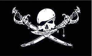 Image of RU Flag Brethren Of the Coast Flag - Pirate Jolly Roger Flag 12 X 18 inch with grommets Standard