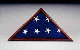 Collins/Eder Flag Case Poplar economy case Memorial Flag Case for Funeral and Casket Flags