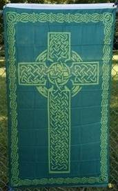 vendor-unknown Flag Celtic Cross Irish Flag 3 X 5 ft. Standard