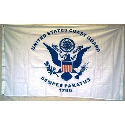vendor-unknown Flag Coast Guard Knitted Nylon 3 x 5 Flag
