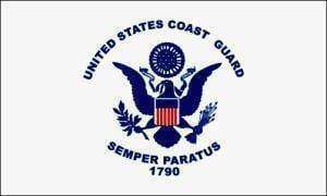 vendor-unknown Flag Coast Guard USCG Flag 2 X 3 ft. Junior