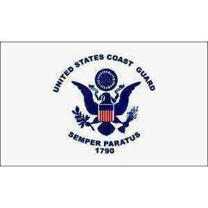 vendor-unknown Flag Coast Guard USCG Flag  5 X 8 ft. Jumbo