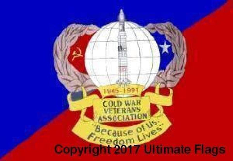 Ultimate Flags Flag Cold War Veteran Flag Standard Custom Made