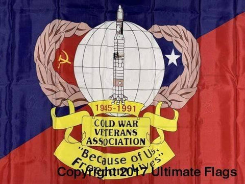 Image of Ultimate Flags Flag Cold War Veteran Flag Standard Custom Made