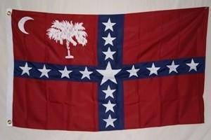 Image of RU Flag Confederate South Carolina Sovereignty Flag 3 X 5 ft. Standard
