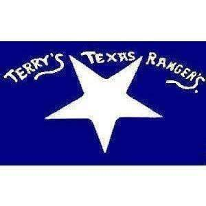 RU Flag Confederate Terry's Texas Rangers Flag 3 X 5 ft. Standard