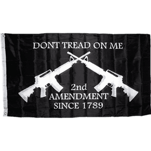 Dont Tread On Me 2Nd Amendment Flag 3X5 Economical