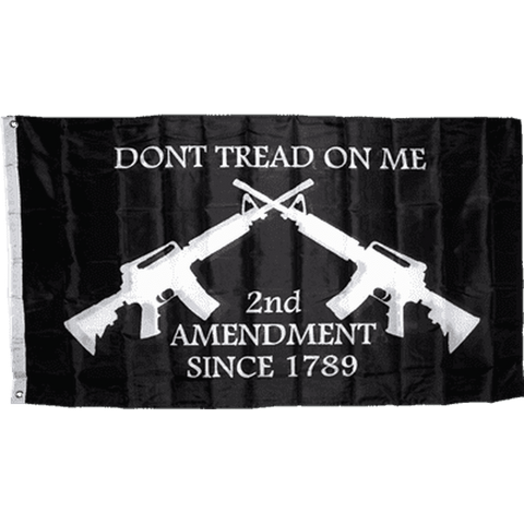 Image of Dont Tread On Me 2Nd Amendment Flag 3X5 Economical