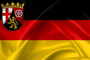 Rhineland-Palatinate Flag (German State Flag) 3 X 5 ft. Standard