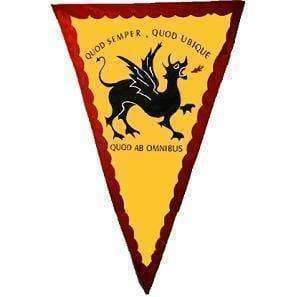 RU Flag Quod Semper Historical Dragon of 1856 Flag 3 X 5 ft. Standard