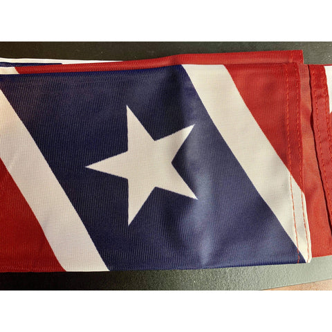 Image of RU Flag Rebel Flag - Confederate Battle Flag - Printed Nylon - 3 x 5 ft.