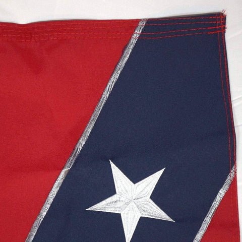 RU Flag Rebel Flag - Confederate Flag -  Nylon Embroidered - Collectors Edition 2x3,3x5,4x6,5x8,6x10