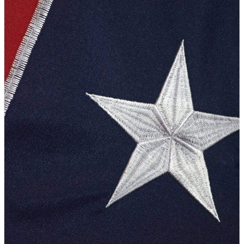 Image of RU Flag Rebel Flag - Confederate Flag -  Nylon Embroidered - Collectors Edition 2x3,3x5,4x6,5x8,6x10
