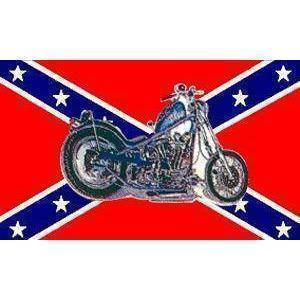 RU Flag Rebel Motorcycle Flag 3 X 5 ft. Standard