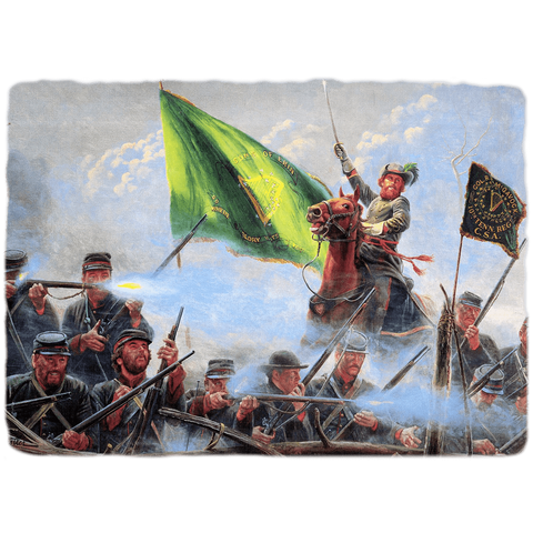 Image of RU Flag Sons of Erin CSA Irish Flag, Irish Confederate Flag -2x3,3x5 ft. Standard