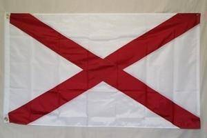 RU Flag State of Alabama Nylon Embroidered Flag 3 x 5 ft.