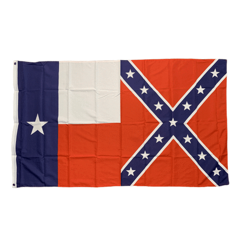 Image of RU Flag Texas Rebel Flag 3 X 5 ft. Standard Overstock Sale