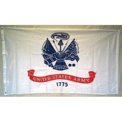 vendor-unknown Flag US Army Emblem Knitted Nylon 3 x 5 Flag