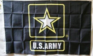 vendor-unknown Flag US Army Star Flag - Nylon Printed 3 x 5 ft.