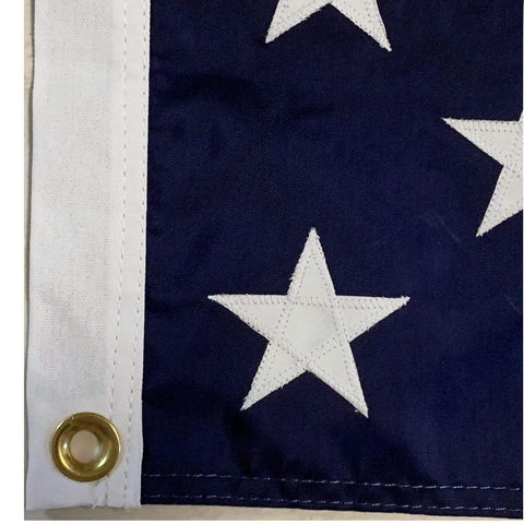 Image of Ultimate Flags Flag US Navy Union Jack - Nylon Embroidered - USA Made