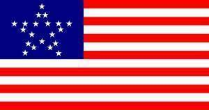 vendor-unknown Flag USA 20 Star Great Star Flag 3 X 5 ft. Standard