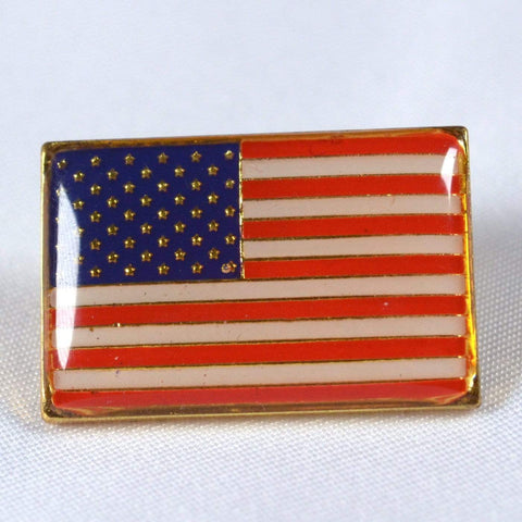 RU Flag USA Flag - bonus Lapel Pin - 50 Star Nylon Embroidered 3x5 foot