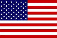 RU Flag USA Flag  Nylon Embroidered 2 x 3 ft for boats
