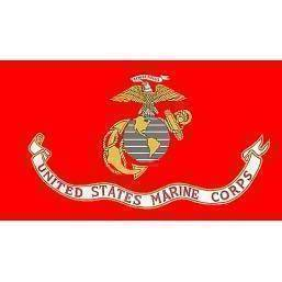 USMC Marine Flag - Nylon Printed - EGA With Grommets