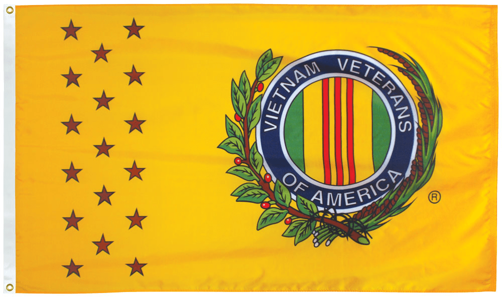 RU Flag Vietnam Veterans of America Flag 3 X 5 ft. Standard