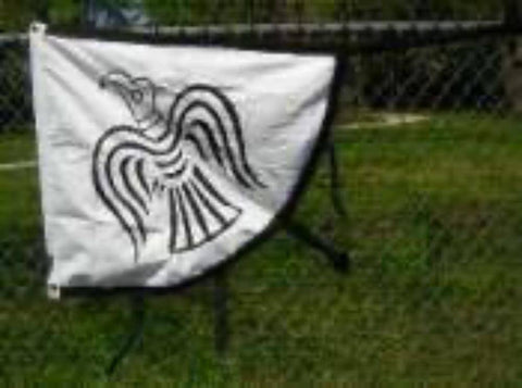 RU Flag Viking Raven Flag - Cotton  2 x 3 ft.